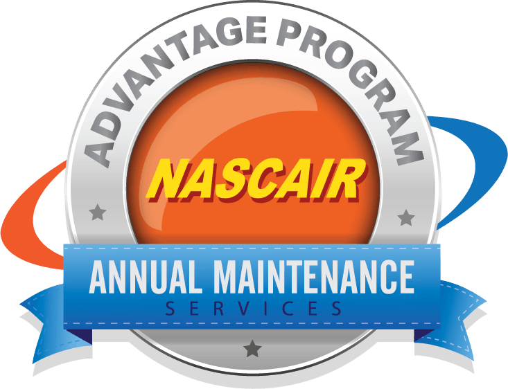 HVAC maintenance program NASCAIR